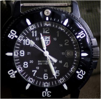 luminox watch face