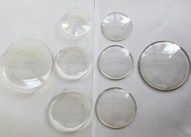 types of watch glass