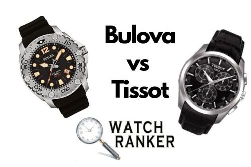 tissot and bulova watch side by side