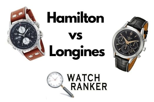 hamiton and longines watches side by side