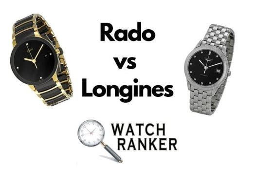rado and longines watches
