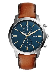 Fossil Townsman Leather Band
