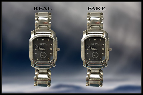 Real vs fake watch