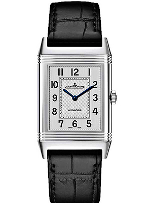 Jaeger-LeCoultre Reverso Black Crocodile Leather Band