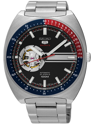 Seiko 5 Sports Open Heart