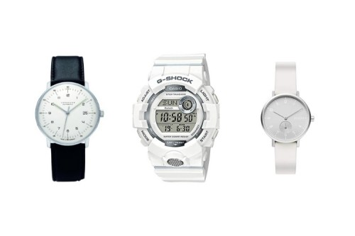 white dial mens watches