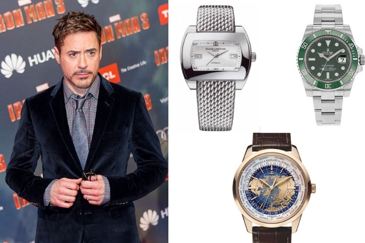 Robert Downey Jr watch collection