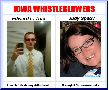 Edward True and Judy Spady
