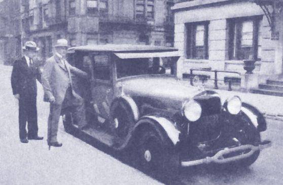 Judge Rutherford and his Cadillac -1928