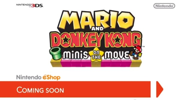 Mario Donkey Kong Minis On The Move Watch Us Play Games