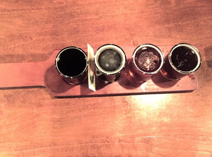 Jackalope beer flight