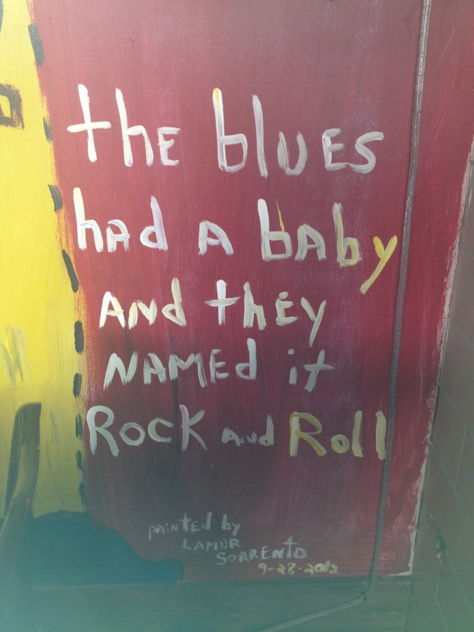 the blues had a baby and named it rocknoroll