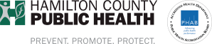 Hamilton County Public Health Logo with PHAB Seal