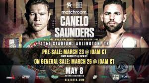 Watch Canelo vs Saunders 5/8/21