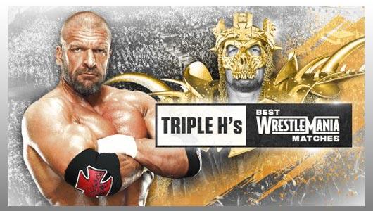 watch triple hs best wrestlemania matches