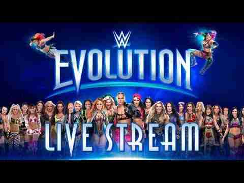 Watch WWE Evolution 10/28/2018 – 28 October 2018 PPV