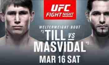 Watch UFC Fight Night till vs Masvidal Live Full show online Free