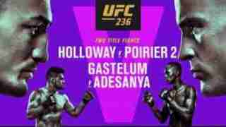 Watch UFC 236 Holloway vs. Poirier 2 Live 4/13/19