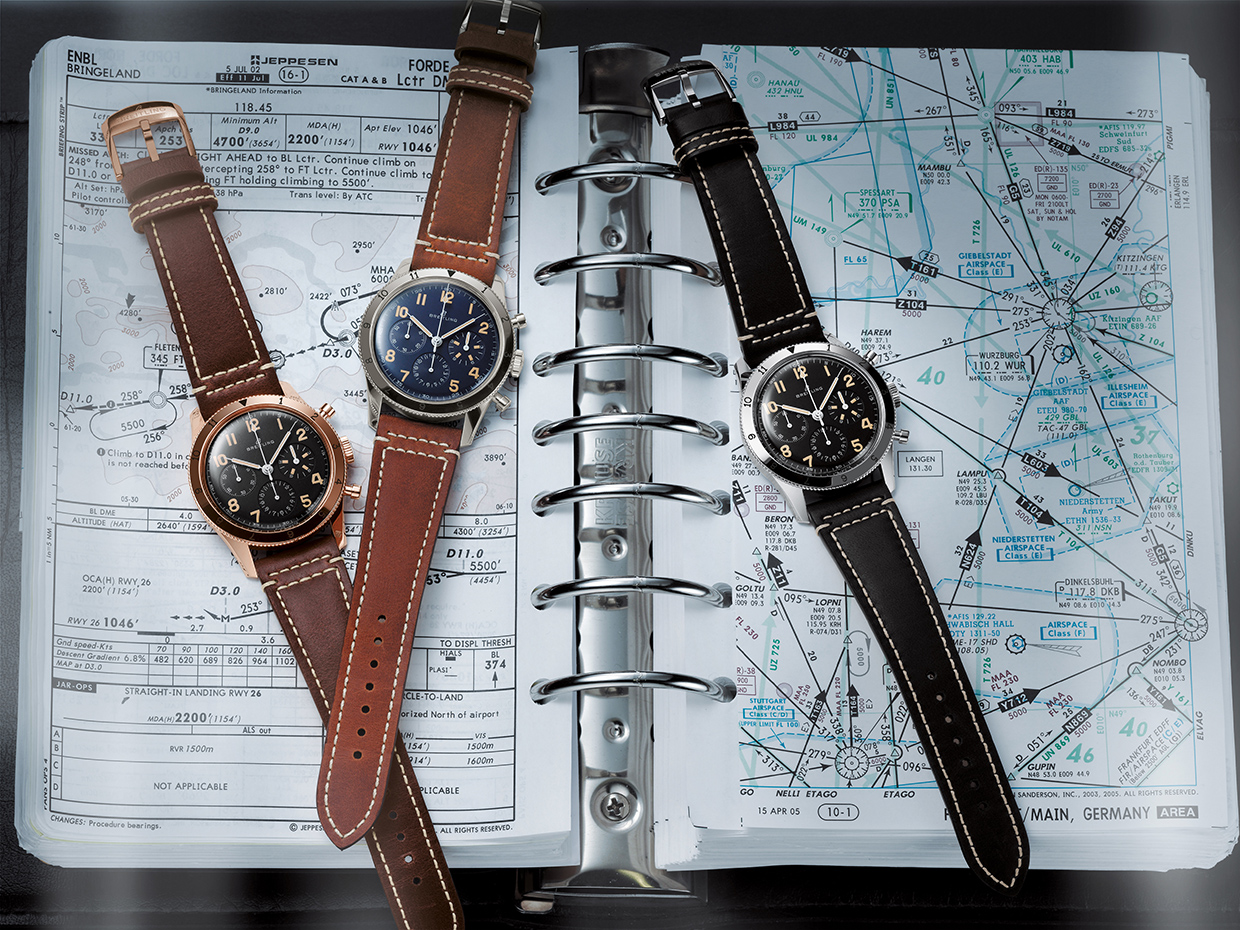 S06 Avi Ref. 765 1953 Re Edition And Avi 1953 Edition Watches
