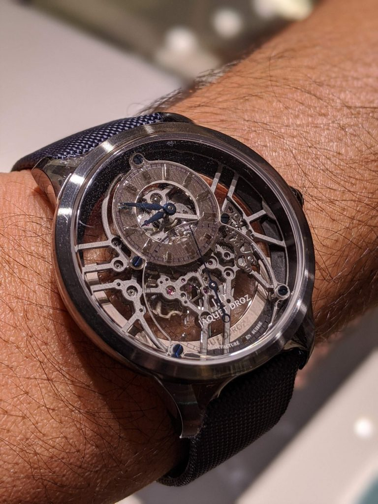 Jaquet Droz Grande Seconde Skelet-One