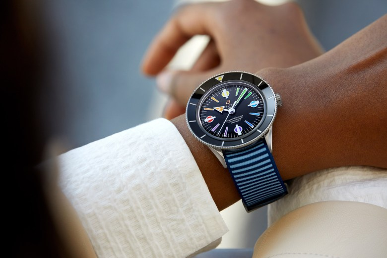 16 Superocean Heritage 57 Limited Edition With A Light Blue Outerknown Econyl Yarn Nato Strap 1024x683
