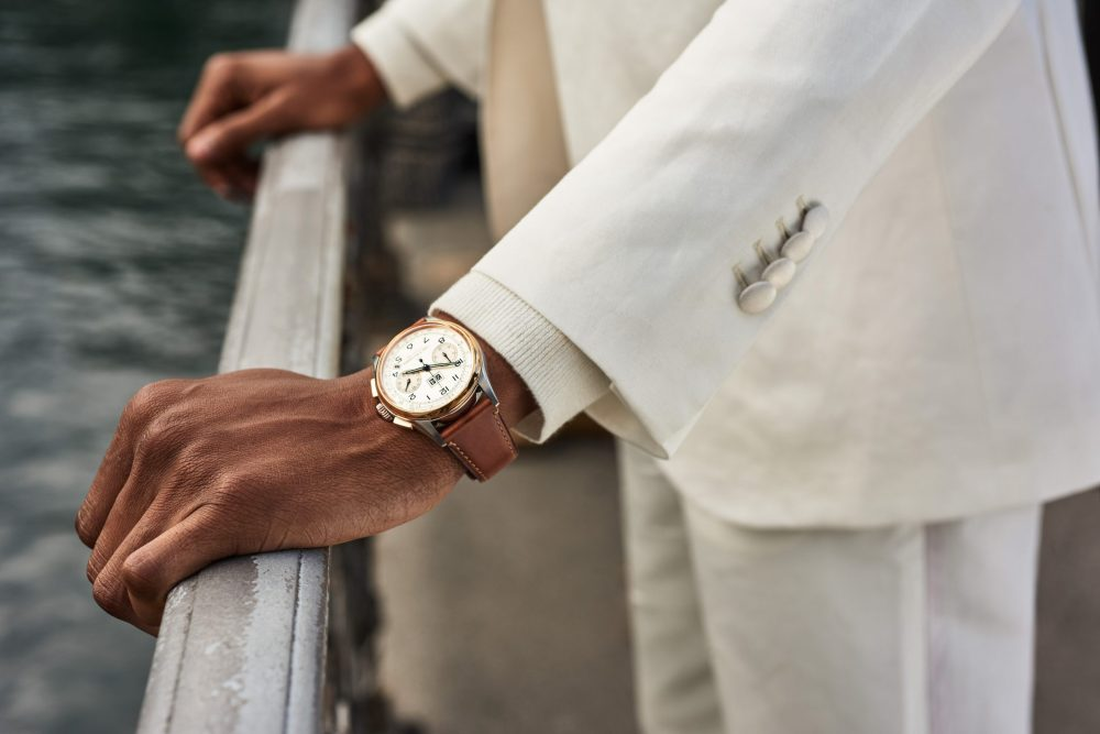 Igee Okafor Wearing Our Heritage Bicompax Annual In Lucerne Scaled