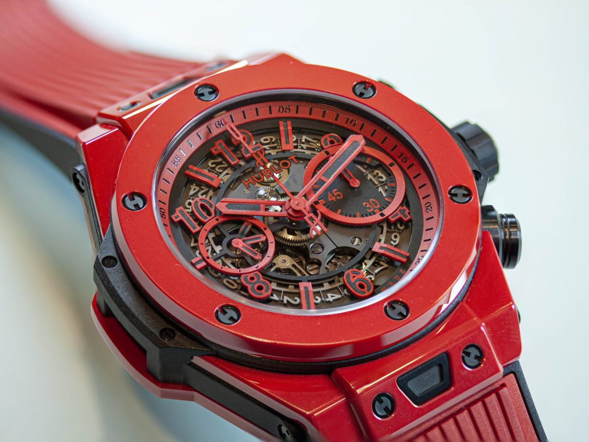 Focus Stacked Hublot RED Scaled