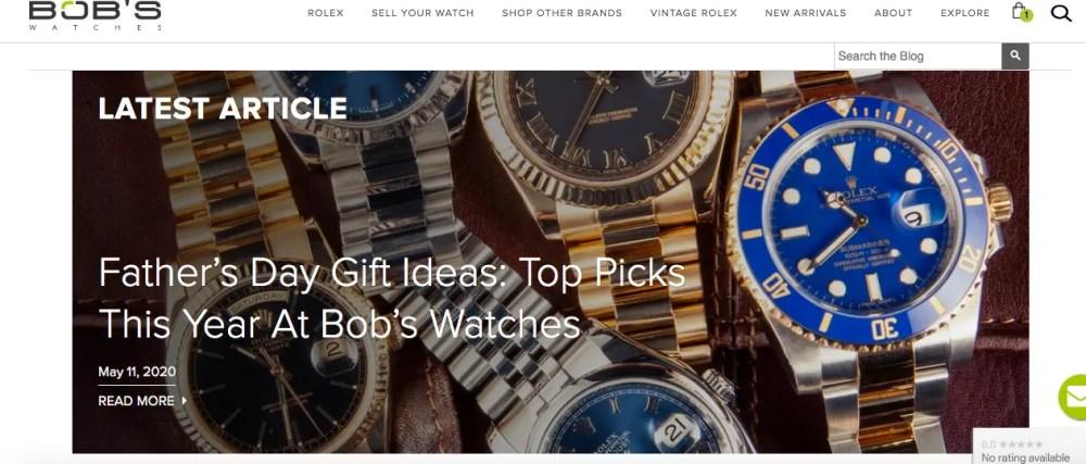 Bob's Watches' Paul Altieri