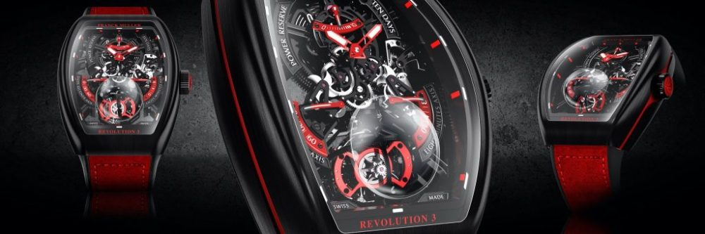 new Franck Muller Vanguard™ Revolution 3 Skeleton