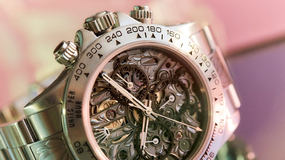 MAD Paris Rolex Daytona Openwork SK II Watch 1 1024x576