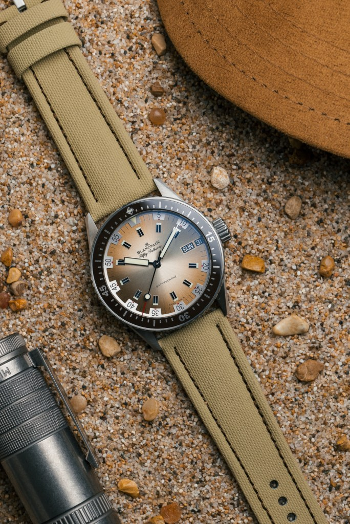 new Blancpain Fifty Fathoms Bathyscaphe Day Date