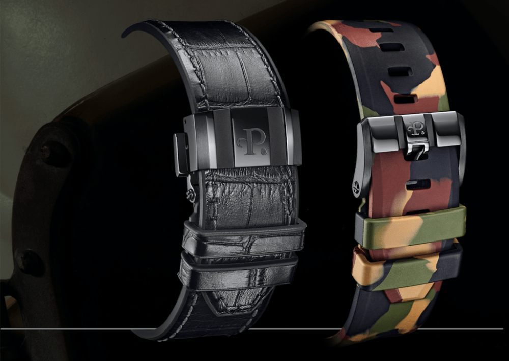 Perrelet watch straps and buckles new Perrelet Turbine Pilot