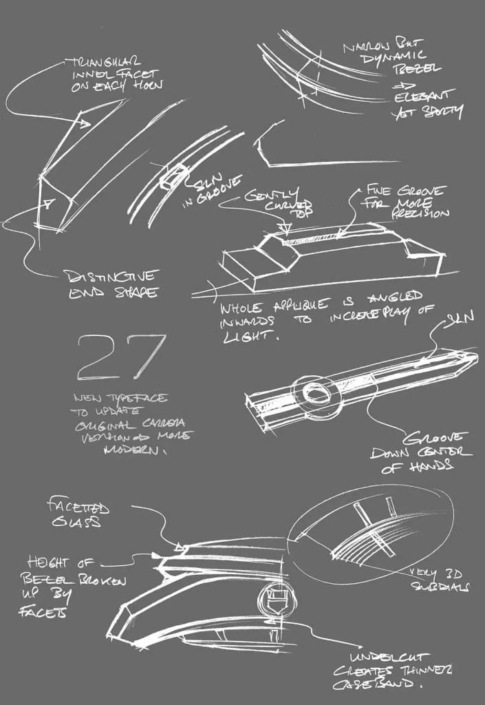 Tag Heuer Carrera sketches new TAG Heuer Carrera Chronograph
