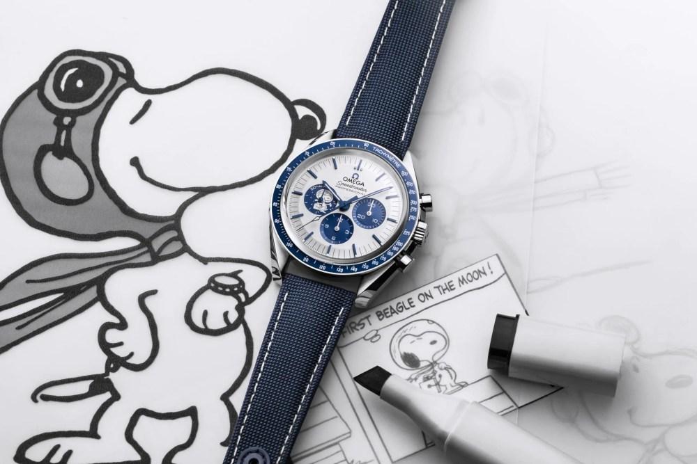Omega Speedmaster Snoopy