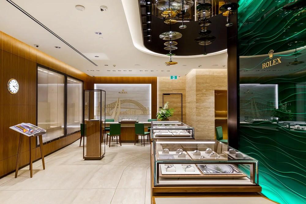 New Rolex Sydney Boutique
