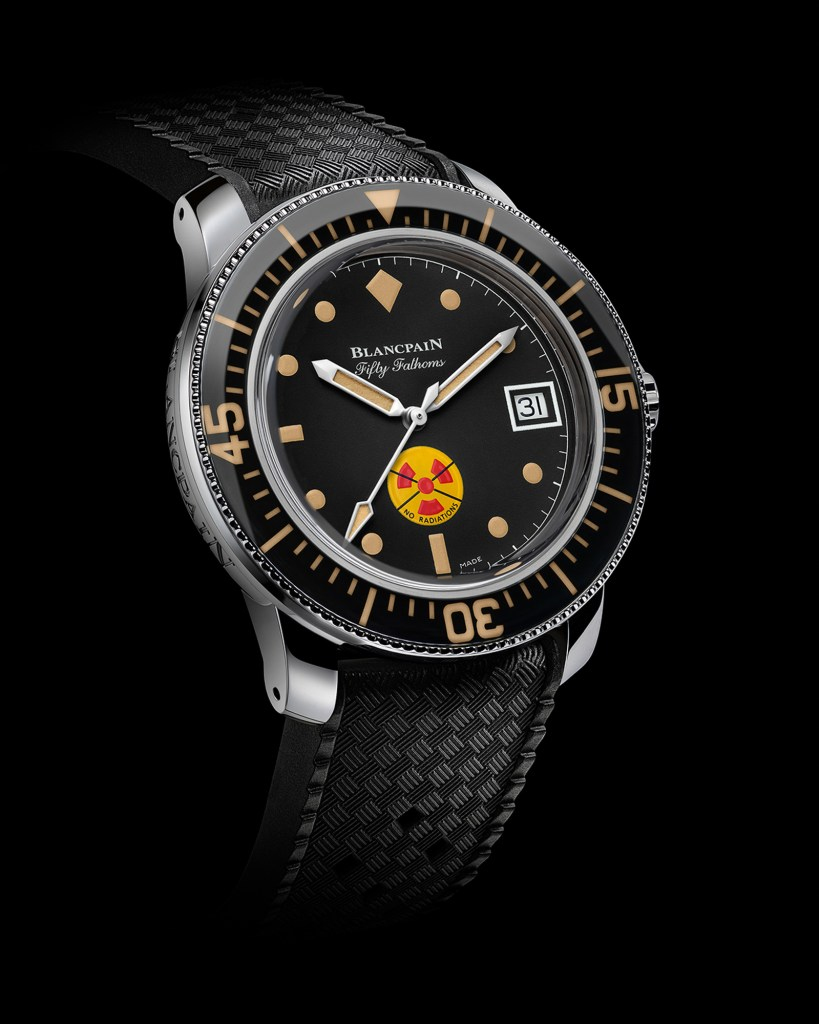 New Blancpain Tribute To Fifty Fathoms