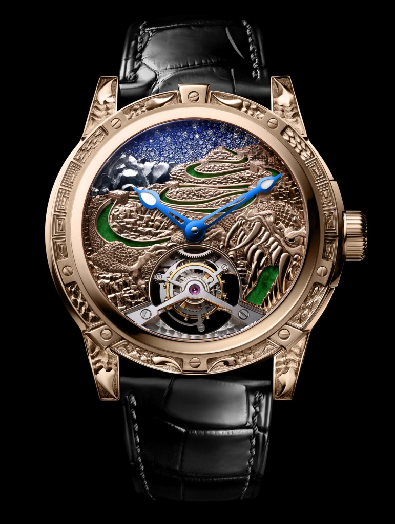 New Louis Moinet '8 Marvels of the World' The Great wall of China