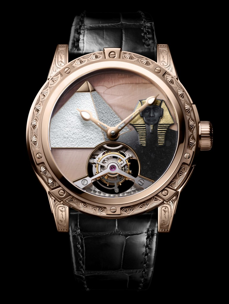 New Louis Moinet '8 Marvels of the World' Pyramid of Khufu
