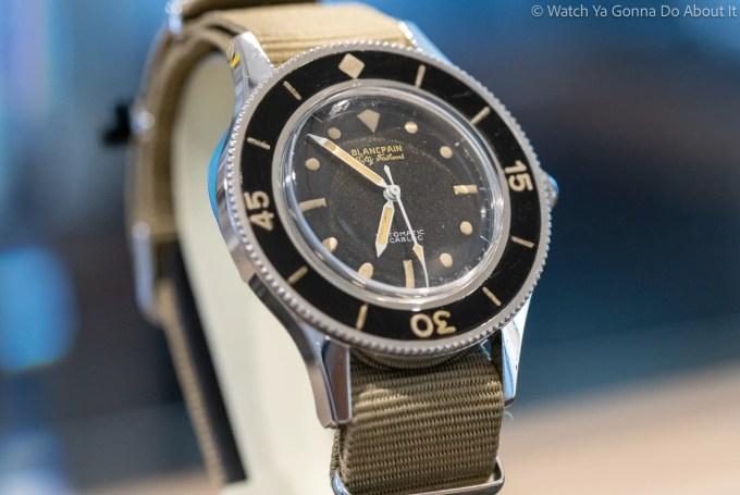 Blancpain Exhibition Watches Of Switzerland 2
