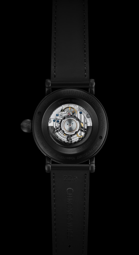 New Chronoswiss Open Gear ReSec Black Ice