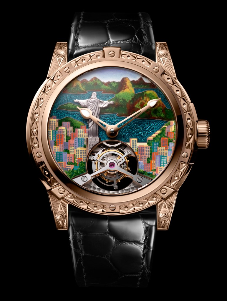 New Louis Moinet '8 Marvels of the World' Christ the Redeemer