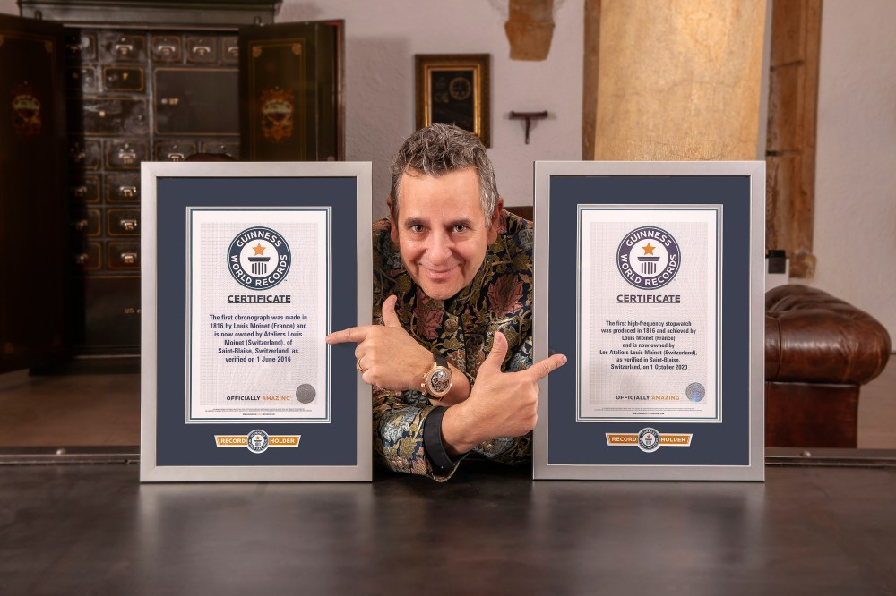 Louis Moinet Guiness World Records