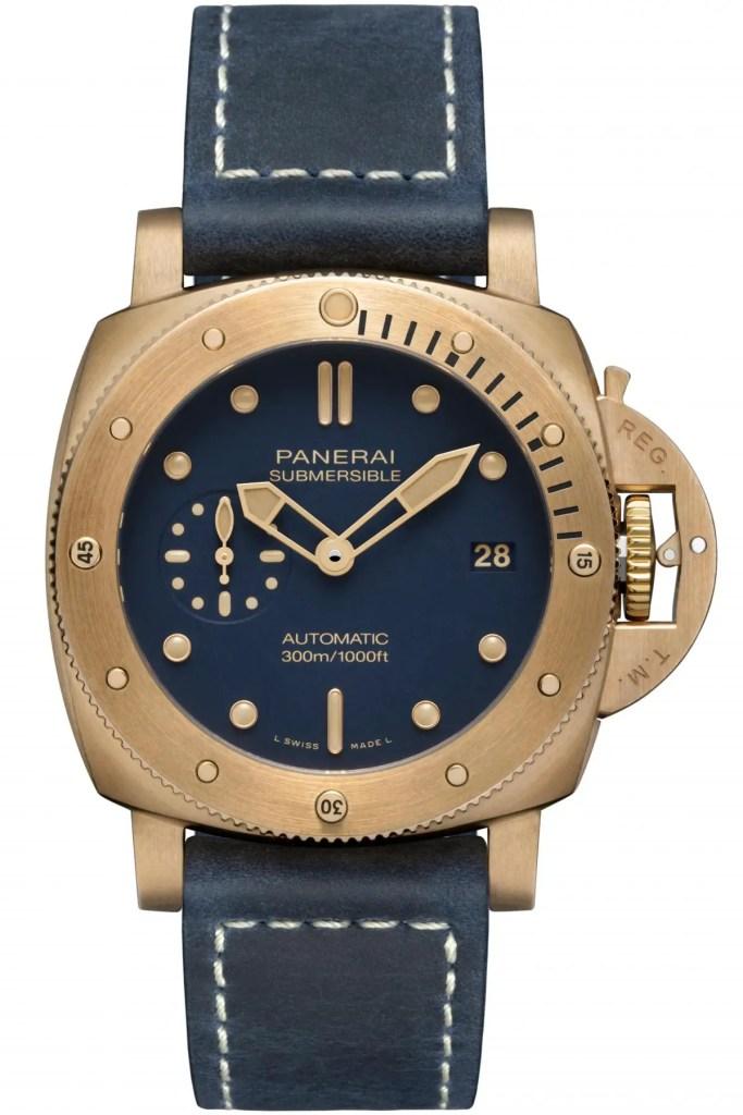 Submersible Bronzo Blu Abisso Pam01074 3 683x1024