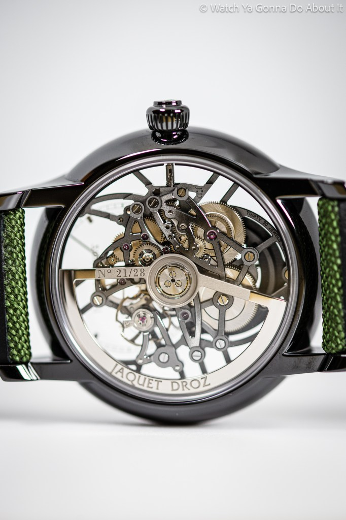 New Jaquet Droz Grande Seconde Skelet-One Tourbillon Only Watch 2021