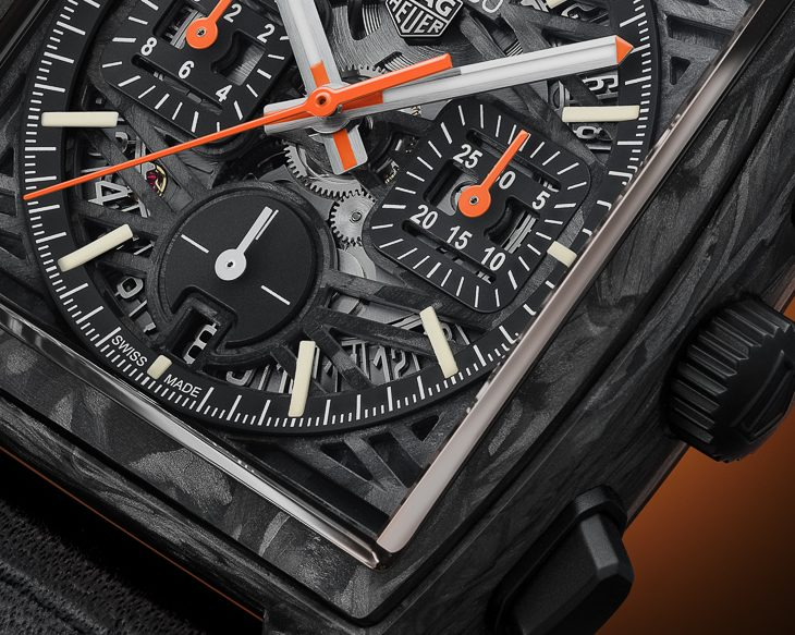 New TAG Heuer Only Watch 2021 Carbon Monaco