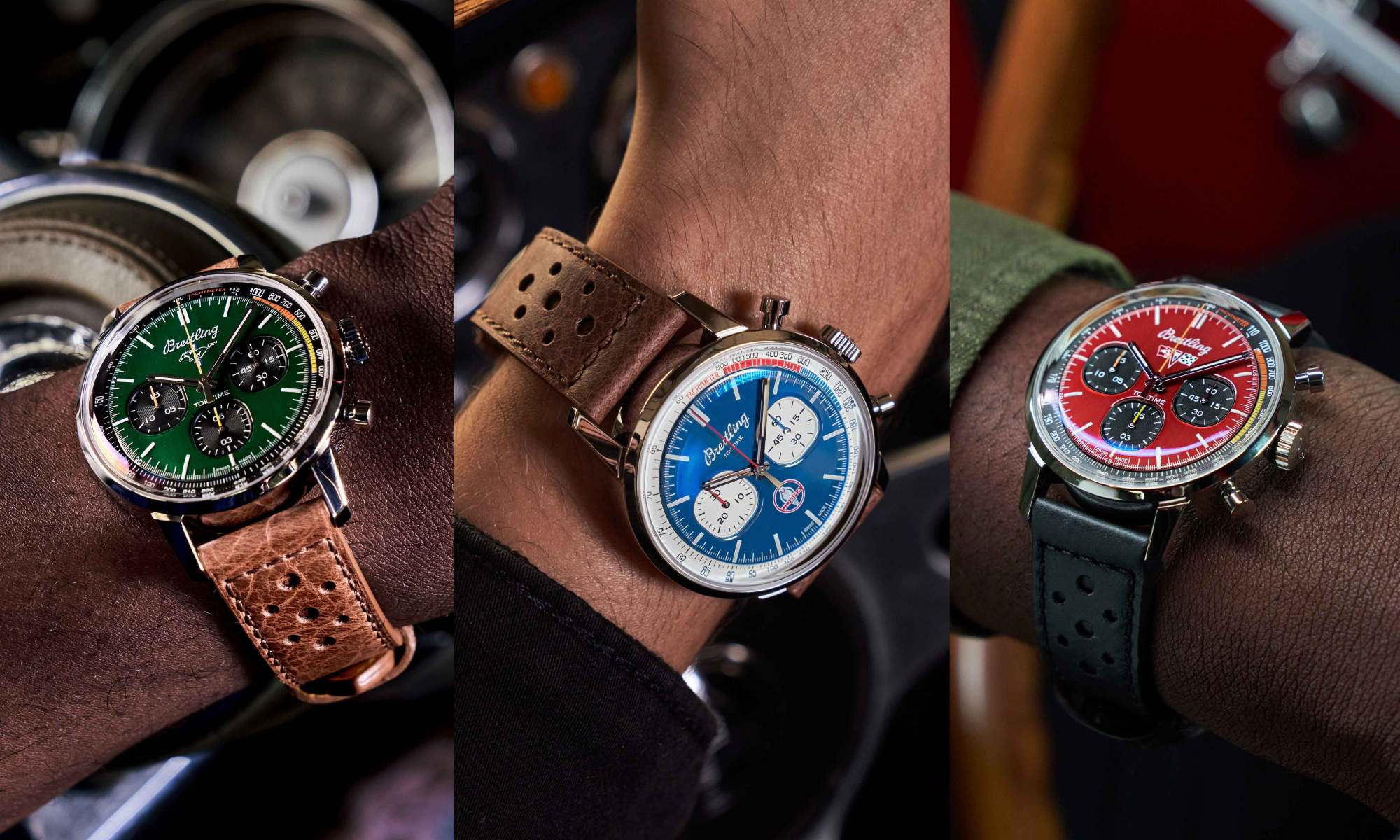 Breitling New Top Time Classic Cars Capsule Collection Composite