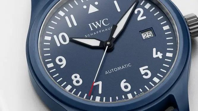 New IWC Schaffhausen Laureus Blue Ceramic