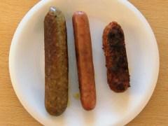 Meneer Wateetons test vegetarische worsten