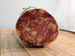 Kurkuma-koriander salami
