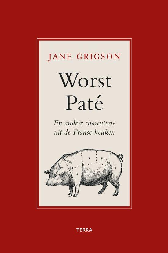 Boek Cover Worst, paté en andere charcuterie uit de Franse keuken - Jane Grigson
